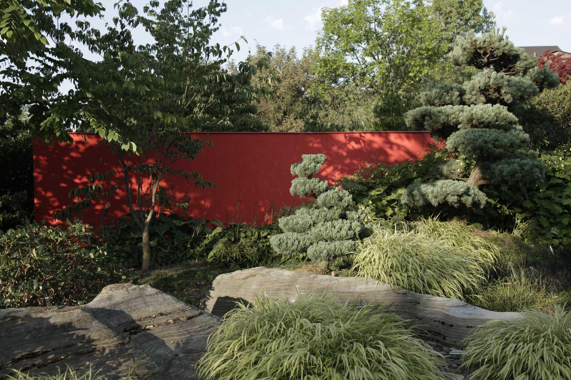 neu-und umgestaltung von privatgärten im raum berlin, potsdam, Garten seite