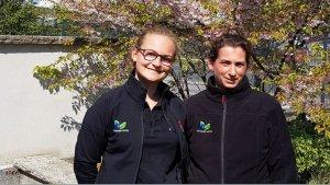 Marietta Rose und Katja König von der Potsdamer Garten Gestaltung GmbH | Bild: Antenne Brandenburg