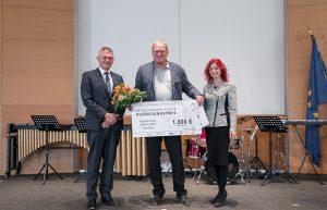 Jens Biewendt mit dem Ausbildungspreis ausgezeichnet