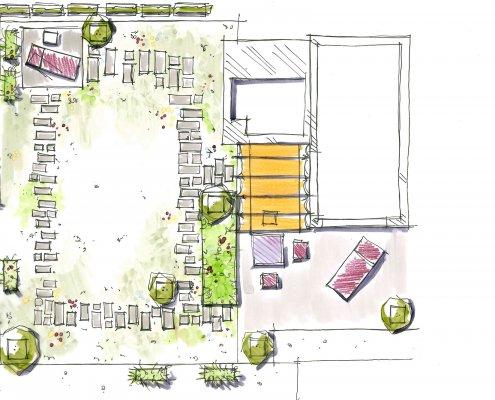 Dachgarten gestalten, Dachterrassen