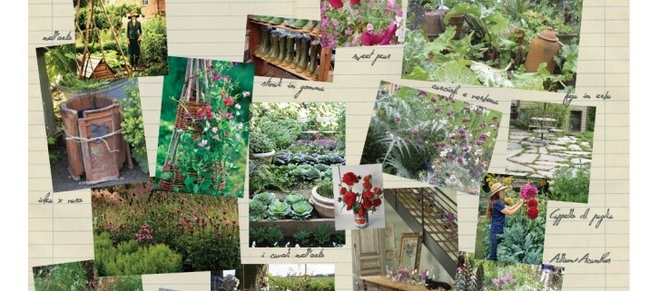 Collage Gartenplanung