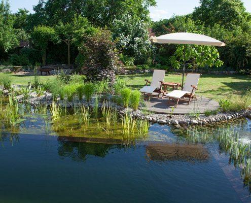 Schwimmteich in Bornim
