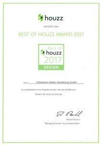 Auszeichnung für Berliner Gärten - Best of Houzz Award