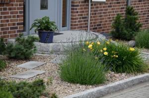 Garten Eingangsbereich
