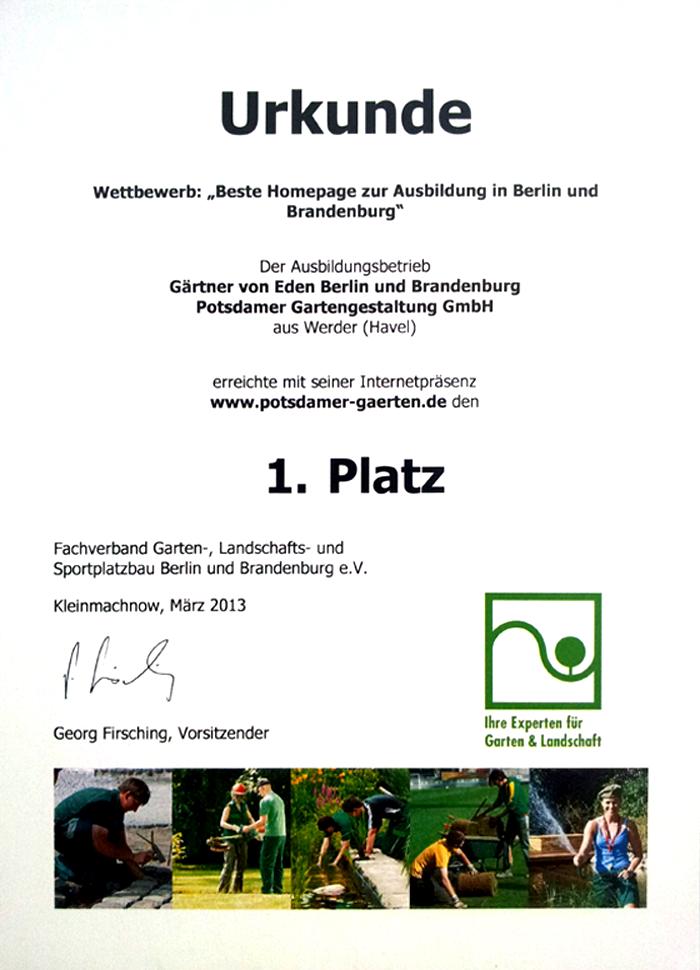 Potsdamer Gartengestaltung, stellenangebote › berliner gärten | gärten für berlin und brandenburg, Design ideen